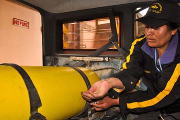El 25 % del parque automotor boliviano funciona con GNV