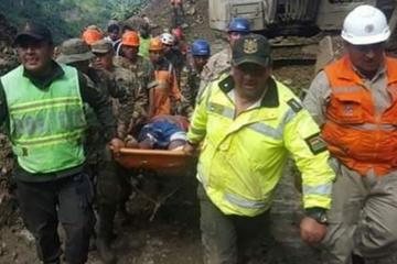 Sube a 16 número de muertos en Caranavi tras otro deslizamiento