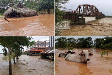 Hay 18 muertos y 4.702 familias afectadas por las lluvias en el país
