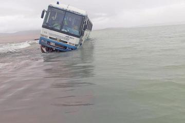 Lluvias cierran el acceso a la región del norte potosino