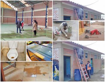 La junta escolar exige mejoras y Alcaldía dice que repara escuelas