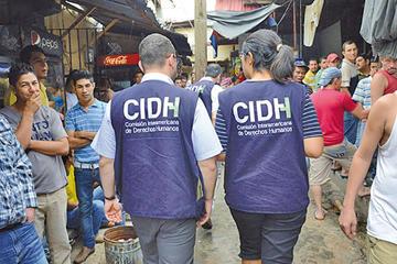 CIDH sesiona en el país y prevé solo escuchar a los ciudadanos