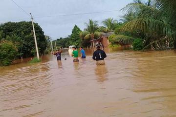 Inundaciones ya dejaron a más de 4.000 familias damnificadas en Beni