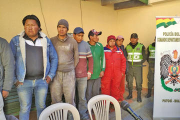 Actividad ilegal en Caiza D no deja regalías para Potosí
