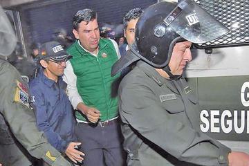 Niegan cesación a Leyes por el caso Mochilas II y debe seguir recluido