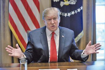 Gobierno de Trump elude norma para construir muro fronterizo
