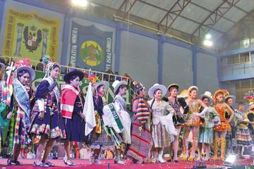 Hoy se elige a la ñusta del Carnaval Minero