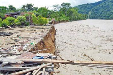 Hay 22 municipios en desastre y 16 en emergencia en Bolivia