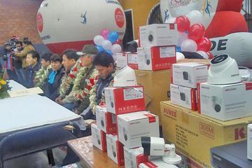 """Alcalde inicia el """"plan segurito"""" en las escuelas de la ciudad de Potosí"""