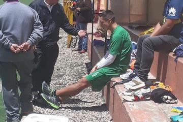 Vargas sufre una lesión y es duda para el domingo