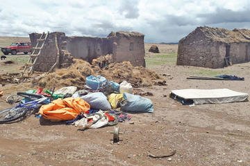Declaran alerta naranja por la persistencia de lluvias en Potosí