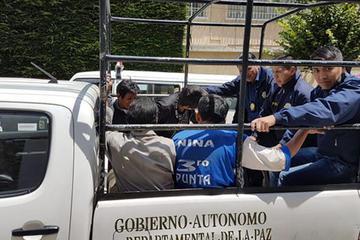Gobierno: aprehenden a 4 personas en La Calzada