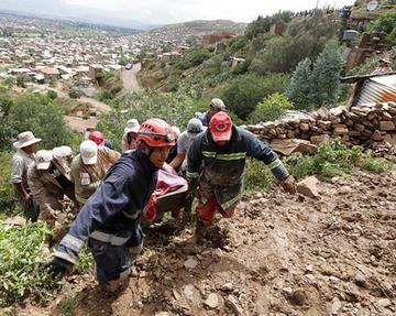 En Bolivia suman 24 muertos y 26 desaparecidos por las lluvias