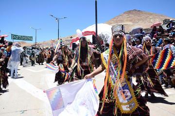 El Carnaval Minero llega con danzas y música