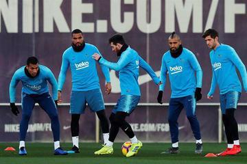 """Barcelona recibe a Valladolid en el """"Camp Nou"""""""