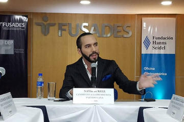 Presidente electo de El Salvador prioriza obras para educación