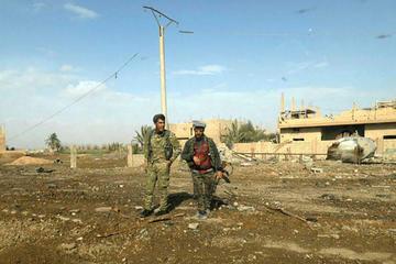 Civiles atrapados frenan a los kurdos su ataque a yihadistas