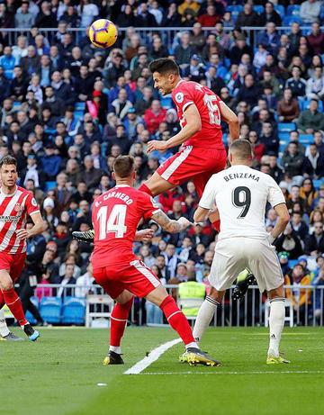 """Girona sorprende a Real en el """"Santiago Bernabéu"""""""