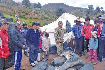 Las lluvias destruyen 7 viviendas en el municipio de Chayanta