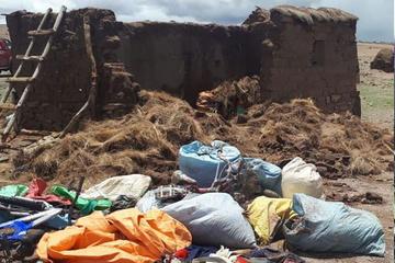 Ya son cerca de 50 las viviendas afectadas por lluvias en Potosí