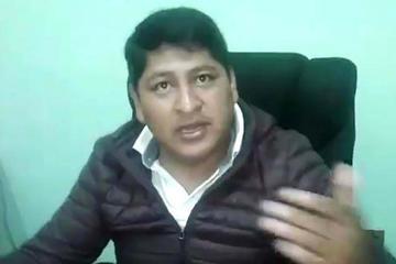 Fiscalía cita a Sergio Pampa por agresión a director de Digcoin