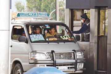 Los transportistas piden dejar sin efecto aporte de Bs 0,20