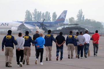 Chile expulsa a 68 bolivianos por cometer delitos de narcotráfico