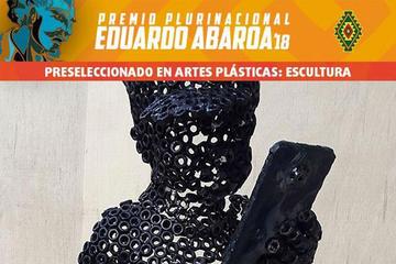 Preseleccionan esculturas al premio Eduardo Abaroa