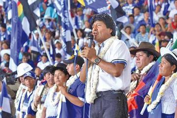 El MAS se reúne en un ampliado para diseñar campaña electoral