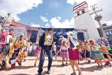 Evo Morales da su apoyo al Pinkillo