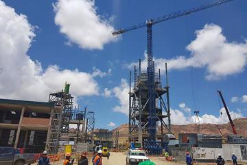 Se consolidan los terrenos para la fábrica de cemento en Potosí