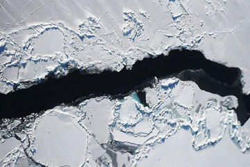 Trozo de hielo mayor que Nueva York se separa de la Antártida