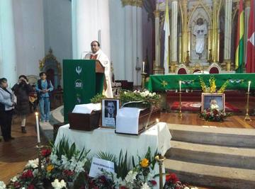 Potosí recibe los restos de Medinaceli con regocijo