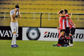Santos queda fuera de la Sudamericana