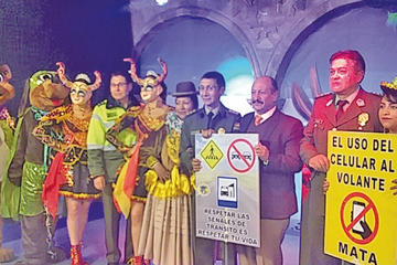 """Presentan la campaña """"Carnaval Seguro 2019"""""""