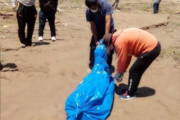 Reportan hallazgo de cadáver de un hombre en el río Caine