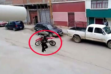 Oruro: grupo de antisociales atracan una remesa minera