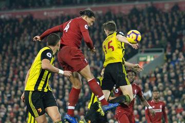 Liverpool golea a Watford y recupera la confianza