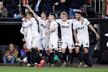 Rodrigo mete a Valencia en la final de la Copa del Rey