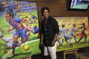 """El """"Maracaná"""" homenajea a Ronaldinho e inaugura un tour dedicado al futbolista"""