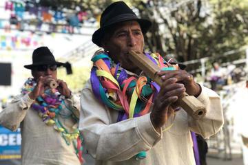 La Anata inicia el Carnaval de Oruro