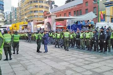 La Policía despliega control en Carnaval