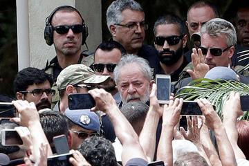 Luiz Inácio Lula da Silva afirma que demostrará su inocencia en Brasil