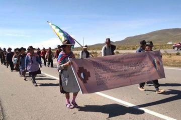 Comunarios de la Nación Qhara Qhara están en La Paz