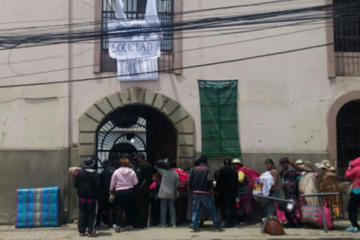 Retiran a niños de la cárcel de varones de San Pedro