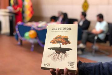 Presentan la obra ganadora Días detenidos en 2018