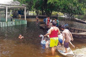 La cantidad de familias afectadas por lluvias se incrementa en el país