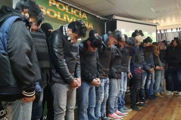 Felcc desarticula 3 grupos delincuenciales en La Paz