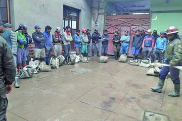 Reportan existencia de grupos de robo de mineral en Potosí