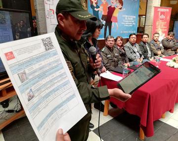 Crean el sistema de registro del viajero seguro para los menores